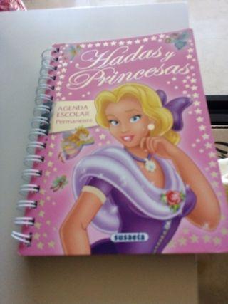Agenda escolar permanente. Diario