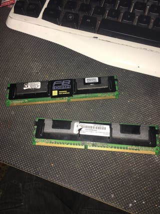 Memoria ram ddr2 de servidor