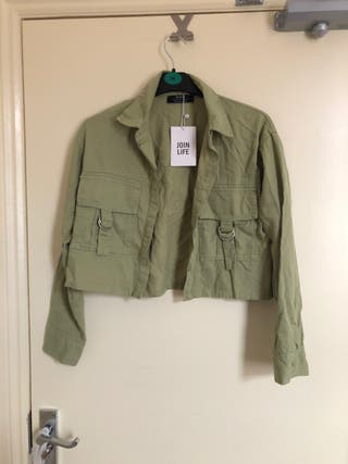 Bershka Cropped Jacket