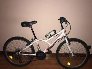 Bicicleta de cambios.