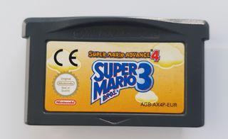 Super Mario Bros 3 GameBoy advance Nintendo DS lit