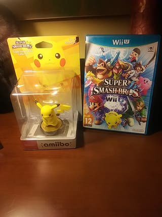 SUPER SMASH BROS WII U+ AMIIBO