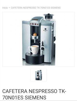 Siemens TK 70 N 01 SN 70 Nespresso - Máquina de ca