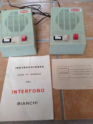 Interfono Bianchi