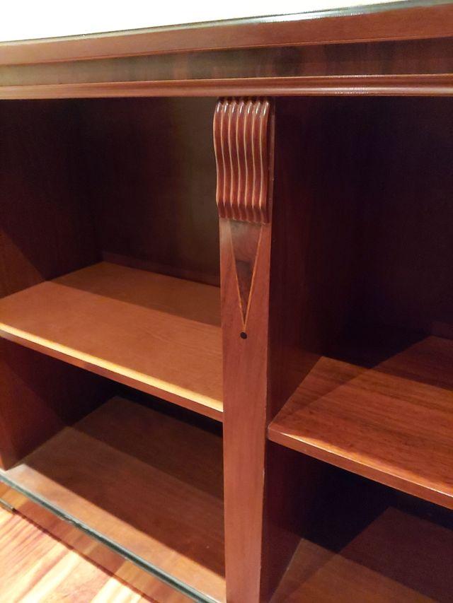 librero de madera