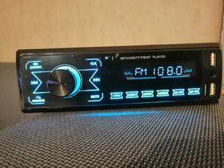 Radio coche 1 Din bluetooth, MP3 play, USB, stereo