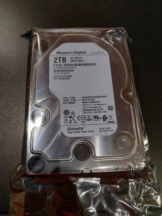 discos duros de 2TB completamente nuevos