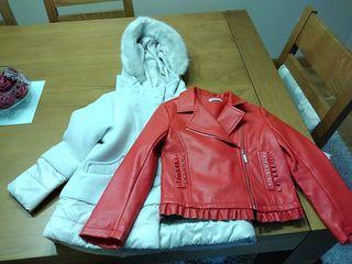 (Lote 8) 2 chaquetas 6años 116cm