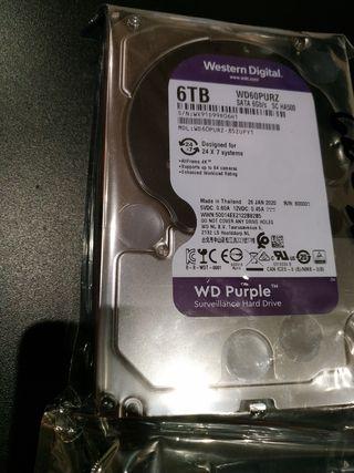 discos duros de 6TB completamente nuevos