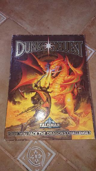 dungeonquest 1987 juego de mesa
