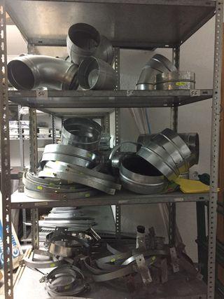 Abrazaderas para tubería de chapa galvanizada