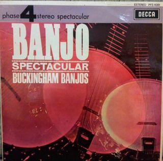 Disco Vinilo Banjo Spectacular