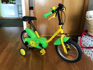 Bicicleta 14 pulgadas verde