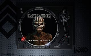Slipmat (deslizador) de Iron Maiden