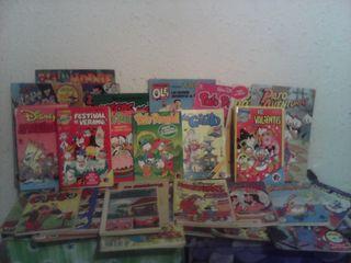 lote 32 comics de los 80 variados ole disney y +