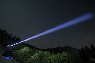 Linternas LED con Zoom Regulable 120mts Nuevas