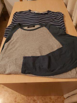 Camisetas hombre manga larga t M