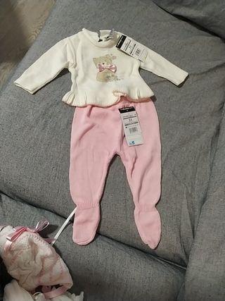 conjunto recién nacida niña 0-3 meses charanga