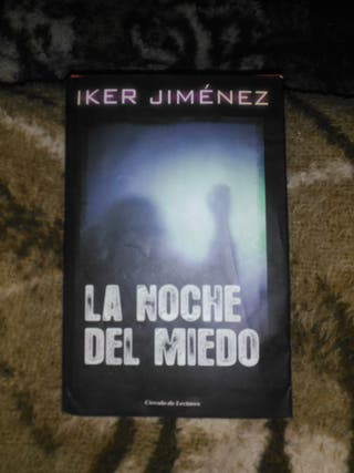 libro de Iker Jiménez la noche del miedo
