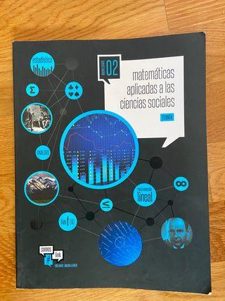 Libro de matemáticas aplicadas ciencias sociales