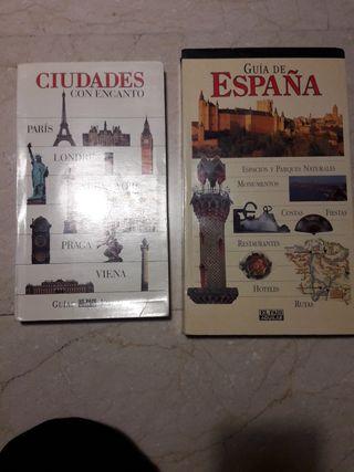 guías de España y Ciudades con encanto