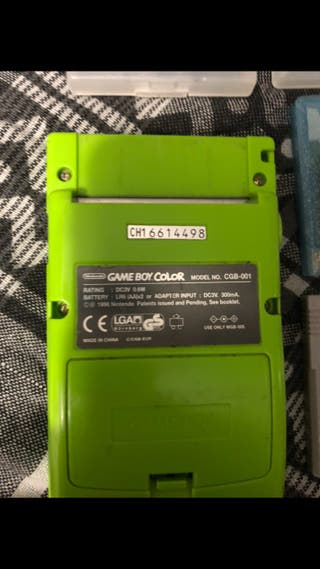 Game Boy Color + Juegos
