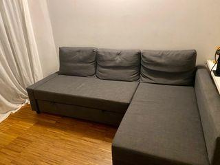 Sofa IKEA Friheten gris 3 plazas