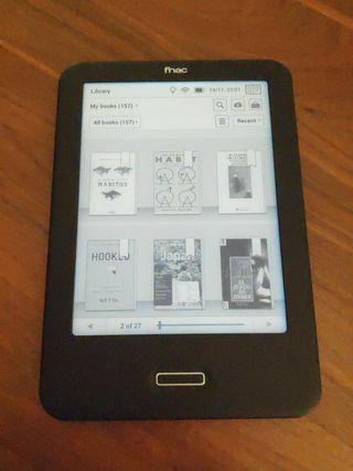 Libro electrónico ebook BQ Cervantes luz de fondo