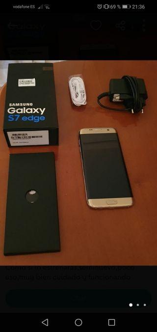vendo movil samsung galaxy s7 edge pantalla 5'5