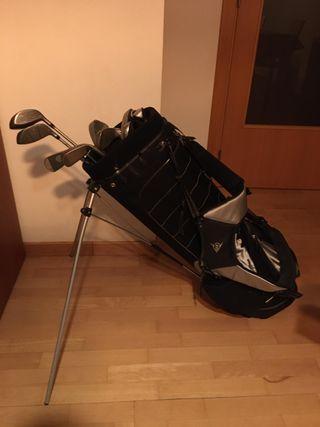 Palos de Golf y bolsa Dunlop
