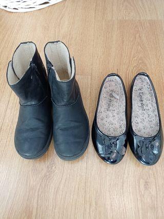 botas y manoletas