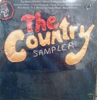 Disco Vinilo The Country Sampler