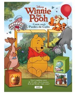 Winnie the Pooh. Conte amb Puzles de Cubs