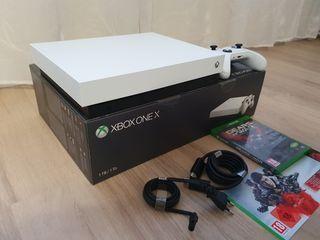 Xbox One X white edition 1tb