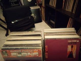 Lote vinilos de música electrónica