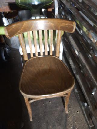 sillas madera