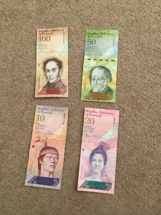 South American bank notes