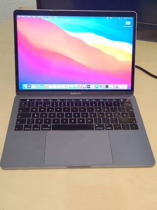 MacBook Pro 13 Touch 2018. Mira que pone!
