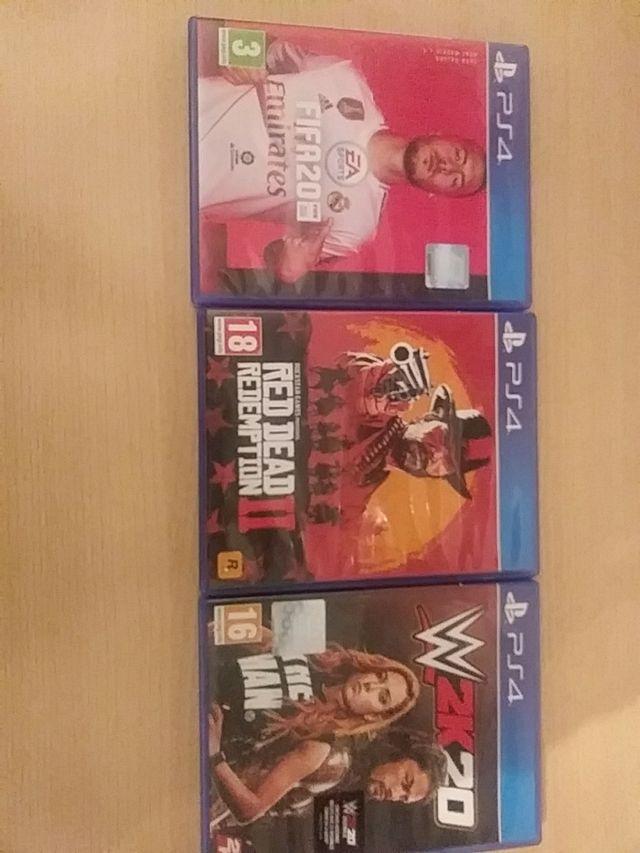 Pack x3 videojuegos