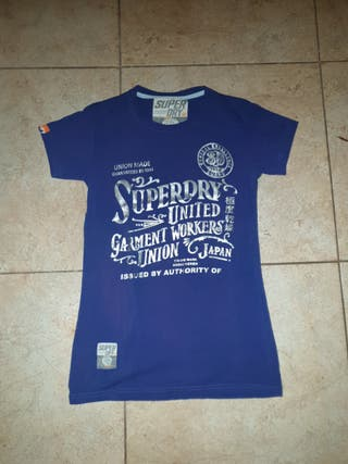 Camiseta Superdry poco uso