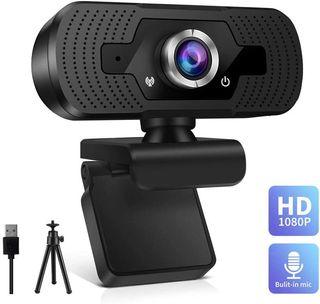Webcam full HD 1080p USB SIN ABRIR