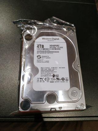 discos duros de 4TB completamente nuevos