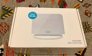 ROUTER WIFI ADSL - Autoinstalable Vodafone