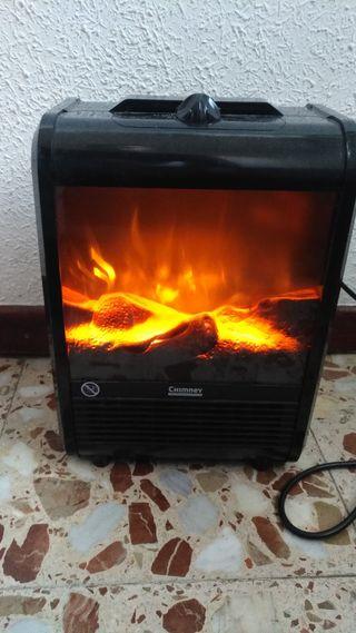 Radiador eléctrico de aire caliente