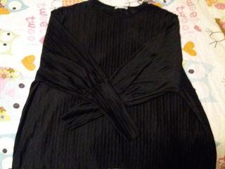 blusa negra Zara talla L
