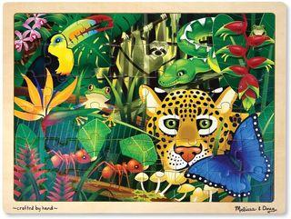 Melissa Doug 13803 - puzzlede Madera - Selva