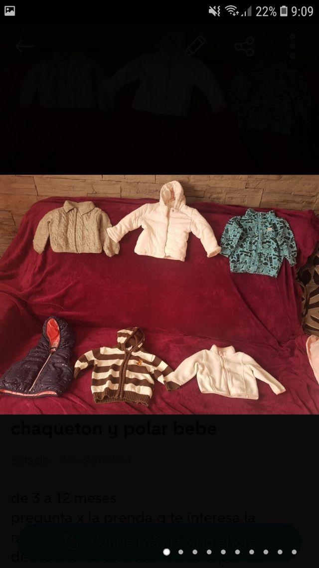camiseta, camisa, polo,abrigo y peto bebe