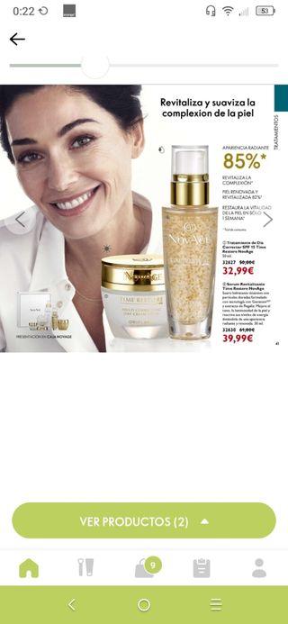 sérum NOVAGE 25€ mascara giordane gold 11,99€