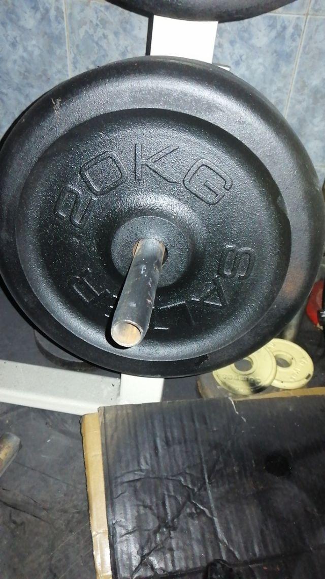 1pesa salter de 20 kilos 30mm