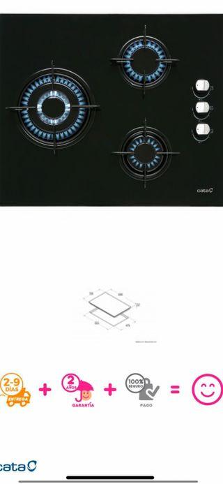 Placa de gas Cata para gas butano